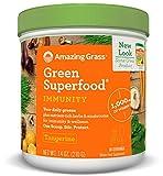 Amazing Grass Green Superfood Immunity Defense- Tangerine, 30 Servings, 7.4 Ounces
