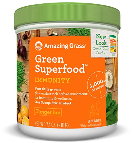 Amazing Grass Superfood Immunity Tangerine
