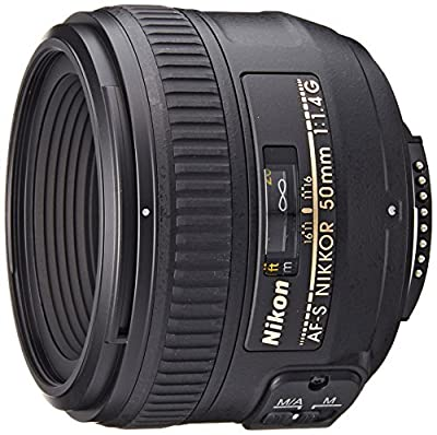 Nikon 50mm f/1.4G SIC SW Prime AF-S Nikkor Lens for Nikon Digital SLR Cameras from Nikon