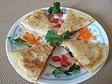 vegan quesadilla - Home Comforts LAMINATED POSTER Quesadilla Mexican Cheese Grilled Vegan Food Poster 24x16 Adhesive Decal