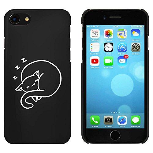 Noir 'Chat Dormant' étui / housse pour iPhone 7 (MC00082823)