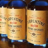 16 Oz 100% Pure Gum Spirits of Turpentine
