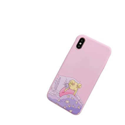 Amazon.com: Carcasa para iPhone 6 Puls 6S 7 8 Puls X Soft ...