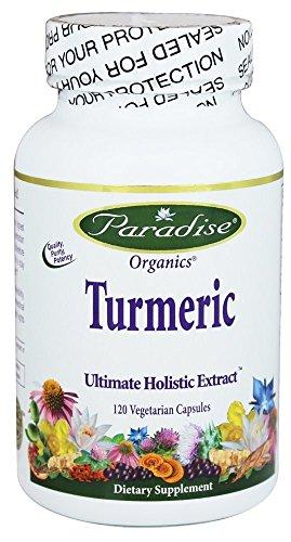 Paradise Herbs - Turmeric Ultimate Ayurvedic Extract - 120 V