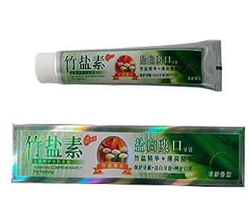 Amazon Com Bamboo Salt Toothpaste Fresh Breath Elegant Fragrance
