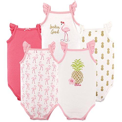 Hudson Baby Sleeveless Bodysuit Pineapple