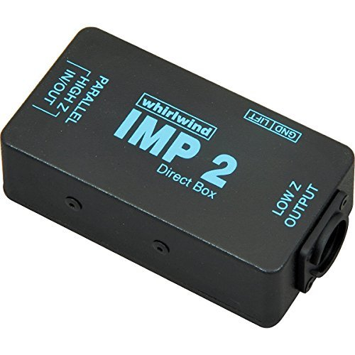 - Whirlwind IMP 2 1-channel Passive Instrument Direct Box