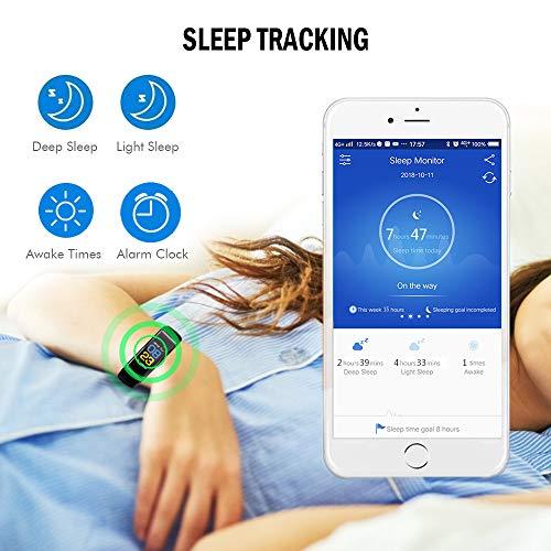 Amazon.com: IC ICLOVER Reloj de pulsera de actividad con ...