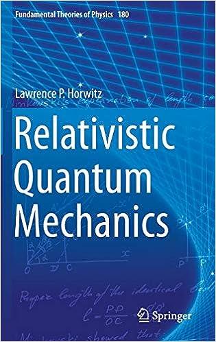 Relativistic Quantum Mechanics
