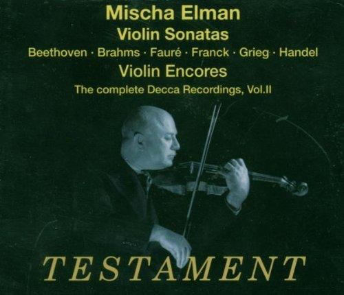 Complete Decca Recordings 2: Sonatas & Encores