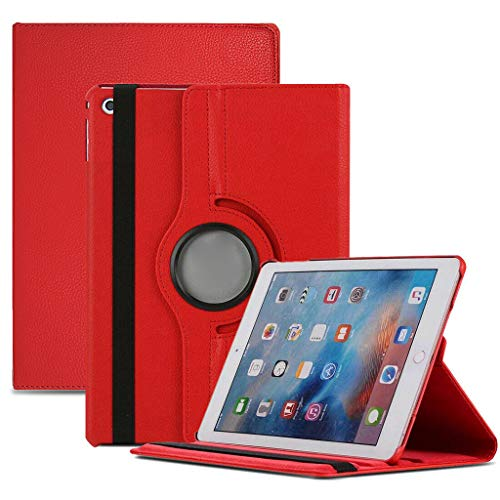 JonerytimeNew Smart Stand Leather Magnetic Case Cover for Apple iPad Mini 5 7.9inch 2019 (Red)