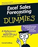 img - for Excel Sales Forecasting For Dummies by Conrad Carlberg (2005-03-25) book / textbook / text book