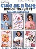 Cute As a Bug Iron-On Transfers