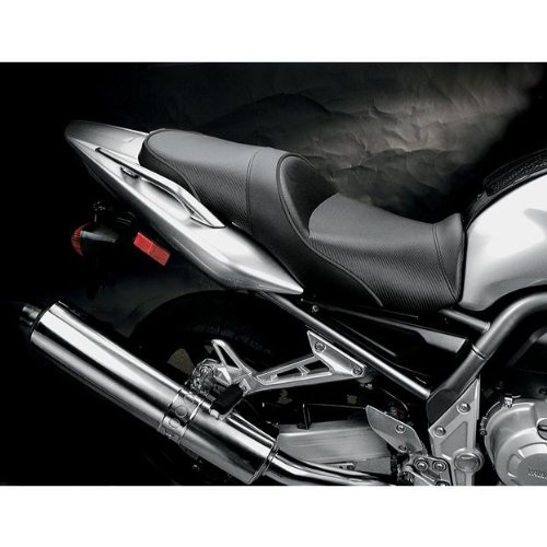 Sargent World Sport Seat Black With Black Accent for Yamaha FZ1 2001-2005 by Sargent (Image #1)