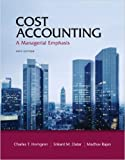img - for Cost Accounting: A Managerial Emphasis by Horngren 14th Edition (Hardcover) Textbook Only book / textbook / text book