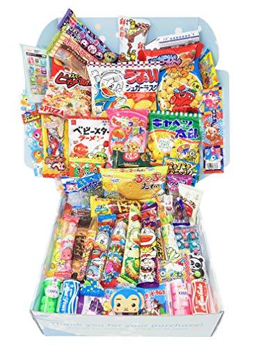 Sakura Box Dagashi Set Japanese Candy Chocolate Snacks Christmas Present