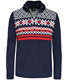 Product review for Bogner Men's Half-Zip Fair Ilse Earl Jumper Dark Blue
