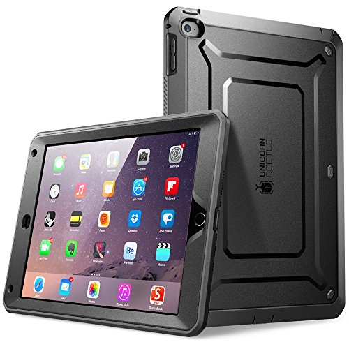 Supcase iPad Case 2018 / 2017, Heavy Duty [Unicorn Beetle PRO Series] Full-Body Rugged Protective Case with Built-in Screen Protector & Dual Layer Design for Apple iPad 9.7 inch 2017 / 2018