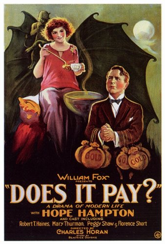 Image result for Does It Pay? 1923