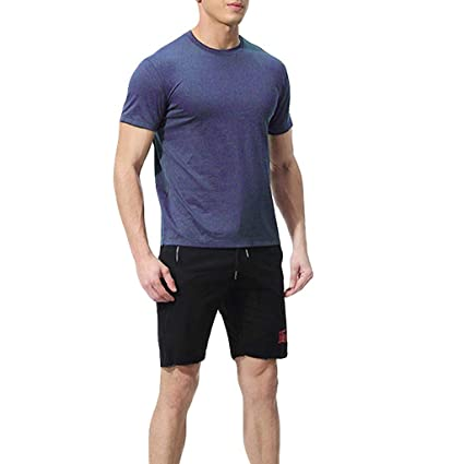 906fb429b5 Amazon.com: Men's Elastic Fitness Short T-Shirt - Fast Drying Tops Pants  Sports Tight Suit,Sunsee 2019 Must Have: SUNSEE WOMEN'S CLOTHES PROMOTION:  Kitchen ...