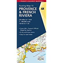 Provence & French Riviera Touring Map