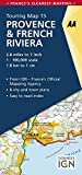 Provence & French Riviera Touring Map (AA Road Map France)