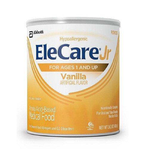 EleCare Jr Amino Acid Based Medical Food, Powder, Ages 1+, Vanilla 14.1 oz