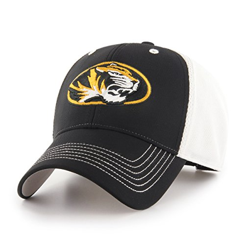 NCAA Missouri Tigers Sling OTS All-Star Adjustable Hat, Black, One Size (Visor Missouri Tigers)