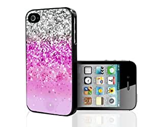 Pink Glitter Hard Snap On Case (iPhone 4/4s)