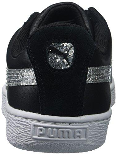 Basket Black Cuore Puma Da Donna silver Con Brillantini A Puma364078 01 6FwBqwxWtU