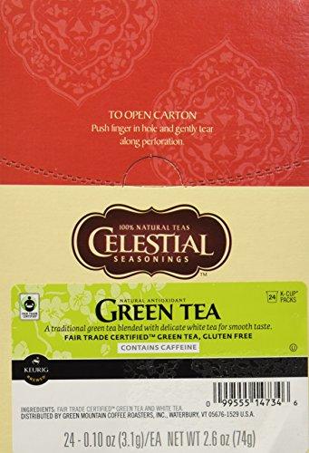 Celestial Seasonings Green Tea K-Cup 48 Count Case