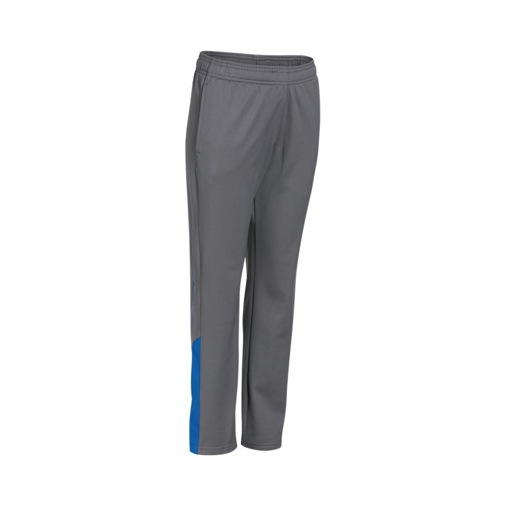 Under Armour Boys' Brawler Pants, Graphite /Ultra Blue, Youth X-Large