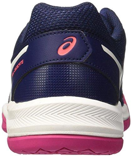 Zapatillas Deporte Diva White Asics 5 Dedicate Indigo para de Gel Azul Mujer Pink Blue xU1awXq
