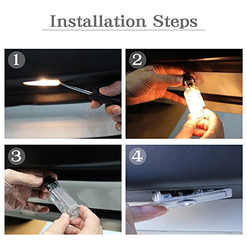 Car Door LED Logo for Hyundai ELANTRA Projector Ghost Shadow LED Courtesy Step Lights Ground Lamp Kit Replacement Entry Welcome Lamp Logo Light