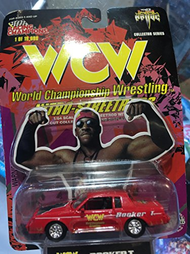 WCW Booker T. Nitro Streetrod by Racing Champions WWF WWE ECW by WWE