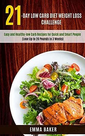 3 week diet low carb vs