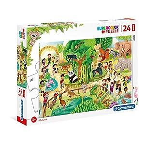Clementoni Supercolor Puzzle Zoo 24 Pezzi Maxi Multicolore 28505