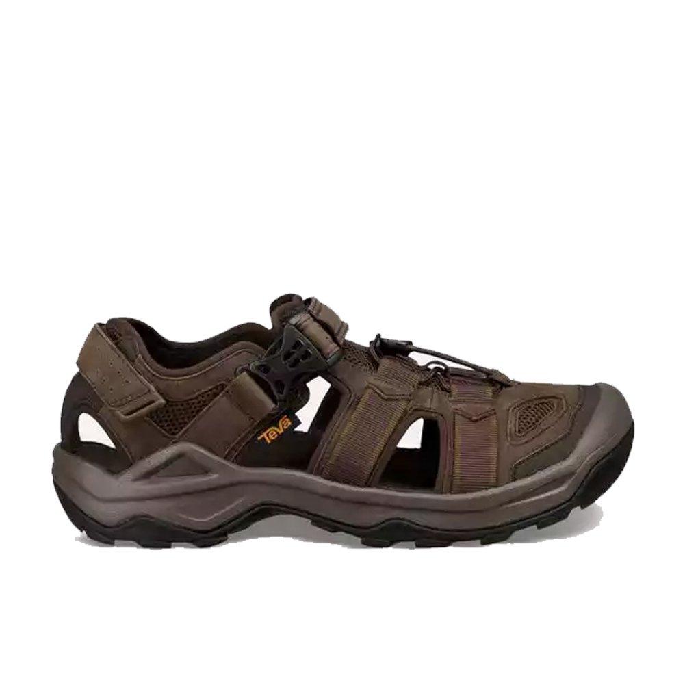 Teva Omnium 2 Leather Shoe Men's Hiking 10 Turkish Coffee