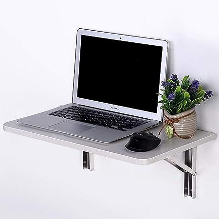 Pan&Pan Mesa de Pared abatible, Escritorio de computadora Mesa de ...