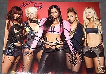 Pussycat Dolls Hot Group Signed Autograph Photo Nicole - Signed Photographs