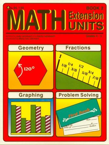 Math Extension Units, Book 2