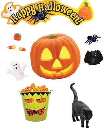Amazon com : Edupress Happy Halloween Mini BB Set : Early Childhood