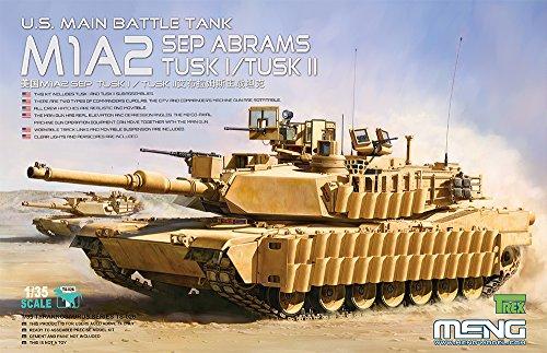 Filigree Accent Plate - Meng M1A2 SEP Abrams TUSK I/TUSK II Battle Tank Model Kit