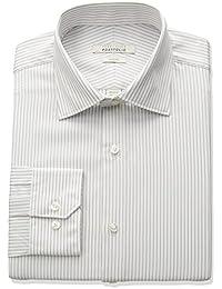 Portfolio Men's Slim Fit Adjustable Collar Performance...
