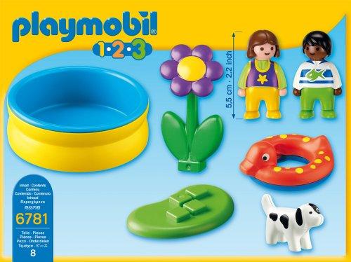 Playmobil 1 2 3 piscina - Piscina playmobil amazon ...
