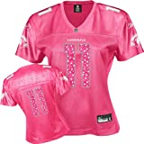 Reebok Arizona Cardinals Larry Fitzgerald Women's Pink Sweetheart Jersey