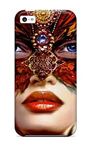 For Iphone 5c Premium Tpu Case Cover Mystique Fantasy Women Abstract Fantasy Protective Case wangjiang maoyi