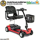 Pride Mobility Go-Go Ultra X Travel Scooter, 3 or 4-Wheel w/ Avail Ext