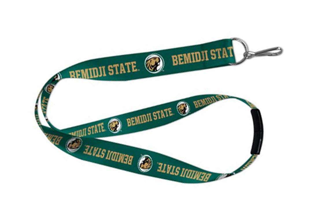 Wincraft Bemidji State University Beavers Lanyard Id Holder with Safety Breakaway Clasp 19 inches Long