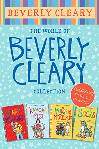 f22f43f301e The World of Beverly Cleary Collection: Henry Huggins, Ramona the Pest, The  Mouse and the Motorcycle, Socks Kindle Edition